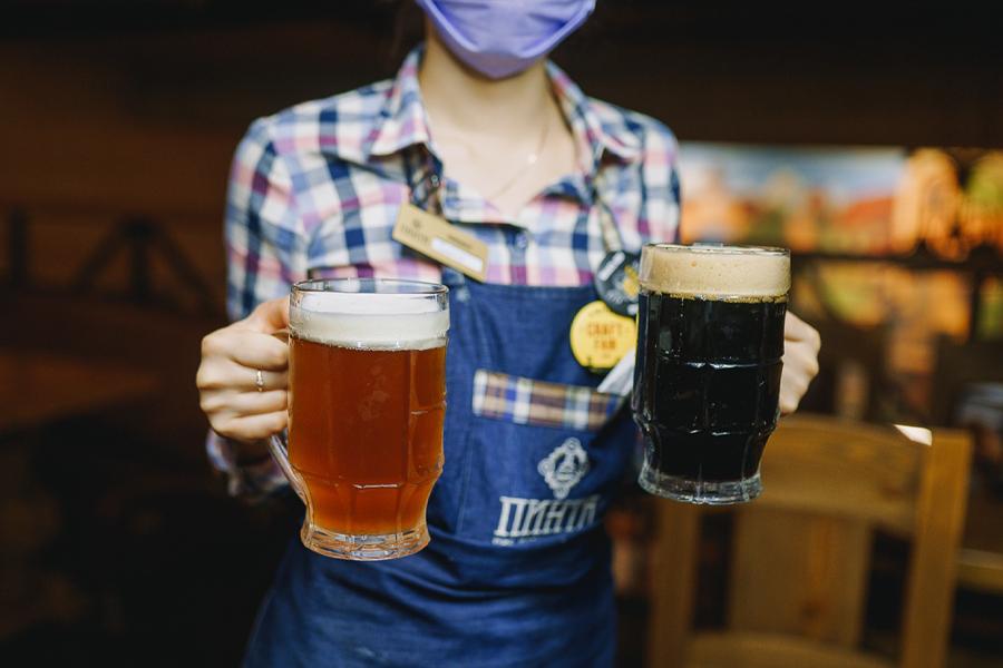 Международный день пива в Пинте на Пушкинской